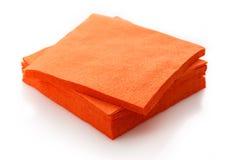 Νέες μίας χρήσης επιτραπέζιες πετσέτες εγγράφου Στοκ Φωτογραφία