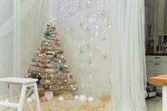 Νέες προσπάθειες έτους ` s για τα Χριστούγεννα Στοκ εικόνα με δικαίωμα ελεύθερης χρήσης
