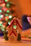 Νέες σύνθεση έτους και διακόσμηση Χριστουγέννων Στοκ Φωτογραφία