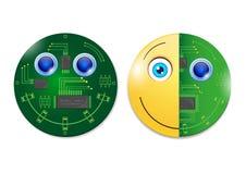 Νέες τεχνολογίες - διάνυσμα Στοκ εικόνα με δικαίωμα ελεύθερης χρήσης