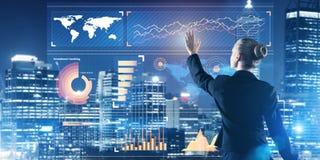 Νέες τεχνολογίες και καινοτομίες ως μεθόδους για την αποτελεσματική σύγχρονη επιχείρηση Στοκ Εικόνες