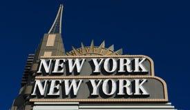 Νέες Υόρκη-νέες ξενοδοχείο και χαρτοπαικτική λέσχη της Υόρκης Στοκ Εικόνα