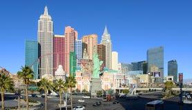 Νέες Υόρκη-νέες ξενοδοχείο της Υόρκης και χαρτοπαικτική λέσχη, Λας Βέγκας, NV Στοκ Φωτογραφίες