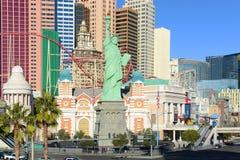 Νέες Υόρκη-νέες ξενοδοχείο της Υόρκης και χαρτοπαικτική λέσχη, Λας Βέγκας, NV Στοκ Εικόνες