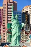 Νέες Υόρκη-νέες ξενοδοχείο της Υόρκης και χαρτοπαικτική λέσχη, Λας Βέγκας, NV Στοκ φωτογραφία με δικαίωμα ελεύθερης χρήσης