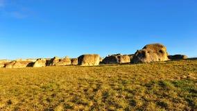 νέοι βράχοι Ζηλανδία ελε&phi Στοκ εικόνα με δικαίωμα ελεύθερης χρήσης