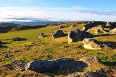 νέοι βράχοι Ζηλανδία ελε&phi Στοκ Εικόνες