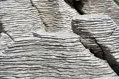 νέοι βράχοι Ζηλανδία punakaiki τηγ&al Στοκ φωτογραφίες με δικαίωμα ελεύθερης χρήσης