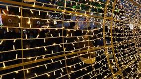 Νέοι εορτασμοί έτους στο τετράγωνο απόθεμα βίντεο