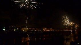 Νέοι εορτασμοί έτους ` s στην Τοσκάνη απόθεμα βίντεο