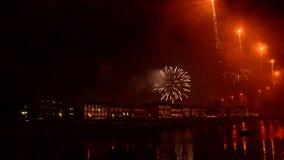 Νέοι εορτασμοί παραμονής έτους ` s στην Ιταλία απόθεμα βίντεο