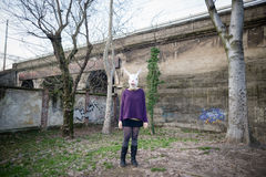 Νέοι εραστές hipster cuople Στοκ φωτογραφία με δικαίωμα ελεύθερης χρήσης