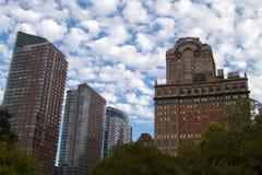 νέοι ουρανοξύστες Υόρκη πόλεων Στοκ Εικόνα