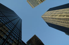 νέοι ουρανοξύστες Υόρκη πόλεων Στοκ Εικόνες