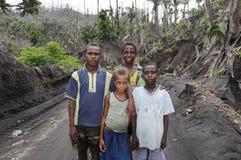 νέοι Παπούα άνθρωποι της Γ&omicr Στοκ φωτογραφίες με δικαίωμα ελεύθερης χρήσης