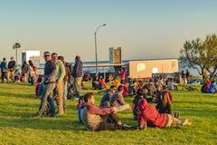 Νέοι στο πάρκο, Μοντεβίδεο, Ουρουγουάη Στοκ φωτογραφίες με δικαίωμα ελεύθερης χρήσης