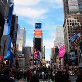 νέοι τετραγωνικοί χρόνοι Υόρκη πόλεων Στοκ φωτογραφία με δικαίωμα ελεύθερης χρήσης