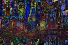 νέοι τετραγωνικοί χρόνοι &Upsi Στοκ φωτογραφίες με δικαίωμα ελεύθερης χρήσης