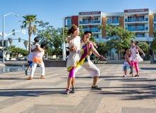 Νέοι χορευτές Στοκ Εικόνα