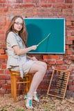 Νέος δάσκαλος Στοκ Φωτογραφίες