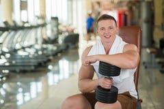 Νέος αθλητικός τύπος στη γυμναστική Στοκ Φωτογραφία