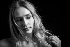Νέος αισθησιακός transgender στοκ φωτογραφία με δικαίωμα ελεύθερης χρήσης