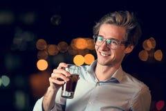 Νέος ανώτερος υπάλληλος μετά από το γραφείο Στοκ Φωτογραφίες