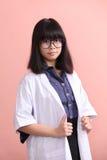 Νέος ασιατικός επιστήμονας Στοκ φωτογραφία με δικαίωμα ελεύθερης χρήσης