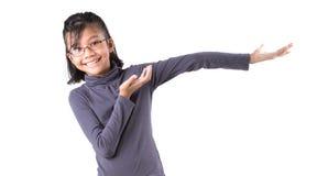 Νέος ασιατικός πυροβολισμός στούντιο κοριτσιών Στοκ φωτογραφία με δικαίωμα ελεύθερης χρήσης