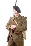 Νέος γαλλικός στρατιώτης το 1940 Στοκ Φωτογραφία