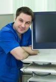 Νέος γιατρός ενδοσκοπίων Στοκ Φωτογραφίες