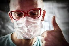 Νέος γιατρός στα γυαλιά Στοκ Εικόνες