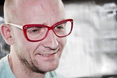 Νέος γιατρός στα γυαλιά Στοκ Φωτογραφίες
