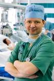 Νέος γιατρός smiley στοκ εικόνες