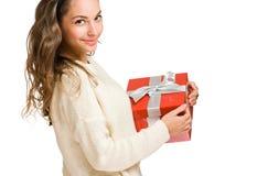 Νέος εγκιβωτισμός δώρων εκμετάλλευσης ομορφιάς. Στοκ Εικόνες