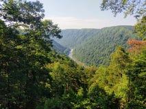 Νέος εθνικός φυσικός ποταμός φαραγγιών ποταμών στοκ εικόνες με δικαίωμα ελεύθερης χρήσης
