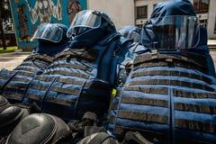 Νέος εξοπλισμός για τους ουκρανικούς σκαπανείς Στοκ Εικόνα