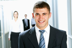 Νέος επιχειρηματίας Στοκ εικόνα με δικαίωμα ελεύθερης χρήσης