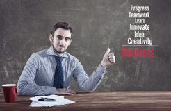 Νέος επιχειρηματίας στοκ φωτογραφίες με δικαίωμα ελεύθερης χρήσης