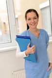 Νέος θηλυκός γιατρός Στοκ εικόνες με δικαίωμα ελεύθερης χρήσης