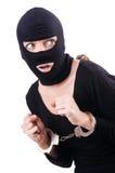 Νέος θηλυκός εγκληματίας Στοκ φωτογραφία με δικαίωμα ελεύθερης χρήσης