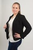 Νέος θηλυκός επαγγελματίας στοκ εικόνα με δικαίωμα ελεύθερης χρήσης