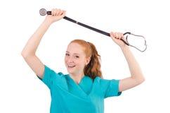 Νέος ιατρικός εκπαιδευόμενος Στοκ φωτογραφία με δικαίωμα ελεύθερης χρήσης