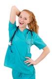 Νέος ιατρικός εκπαιδευόμενος Στοκ Φωτογραφία