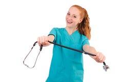 Νέος ιατρικός εκπαιδευόμενος Στοκ Εικόνες