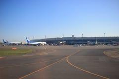 Νέος διεθνής αερολιμένας HOKKAIDO Chitose Ιαπωνία Στοκ Φωτογραφία
