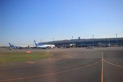 Νέος διεθνής αερολιμένας HOKKAIDO Chitose Ιαπωνία Στοκ Εικόνα