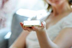 Νέος λιμένας φωτισμού του νέου iphone 7 συν Στοκ Φωτογραφίες