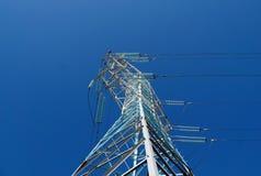 Νέος ιστός των ηλεκτροφόρων καλωδίων Στοκ Εικόνα