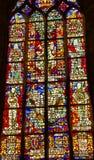 Νέος καθεδρικός ναός Ντελφτ Κάτω Χώρες γυαλιού βασιλιάδων λεκιασμένος οι Κάτω Χώρες Στοκ φωτογραφίες με δικαίωμα ελεύθερης χρήσης